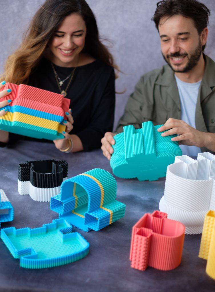Paula Cademartori and Massimiliano Rossi