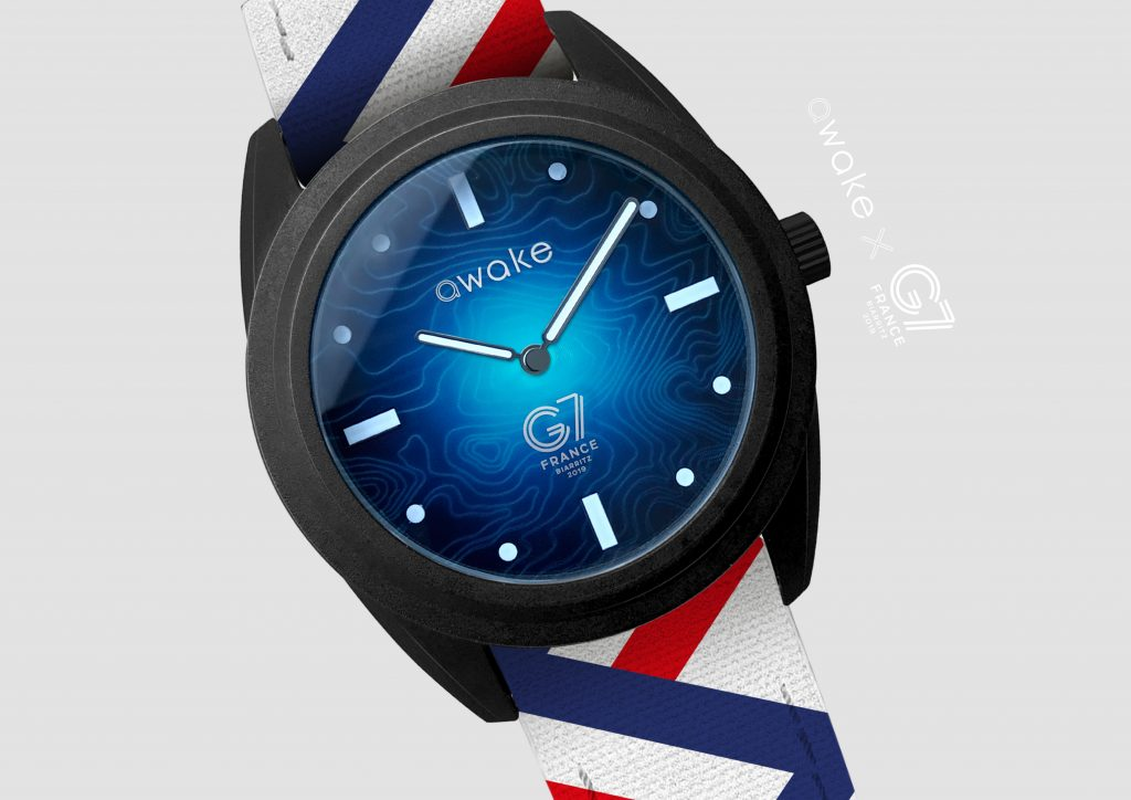 awake sustainable watch for the G7 summit
